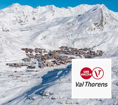 De la neige à la table station Val Thorens